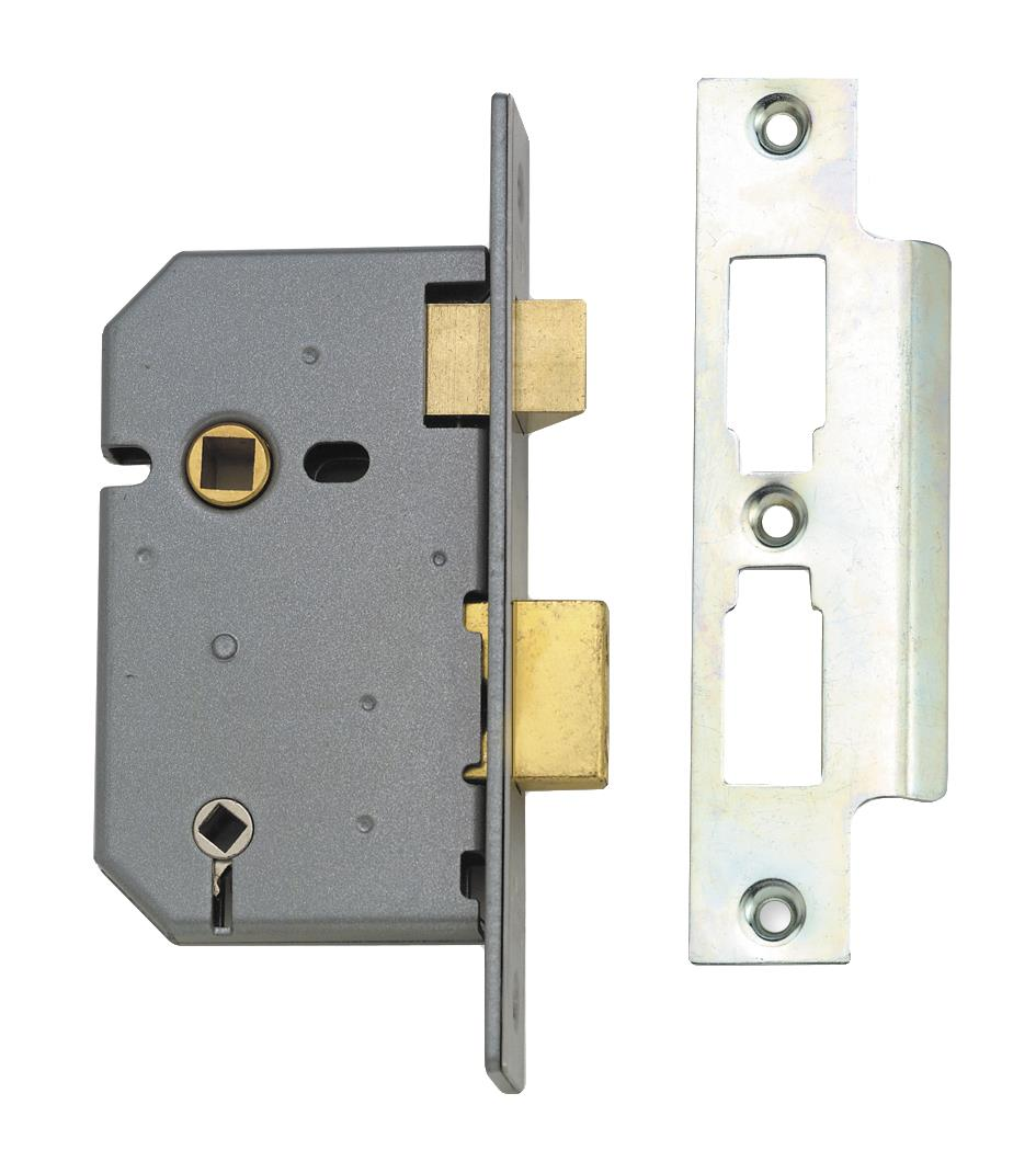 2226 - 3 Lever Bathroom Lock