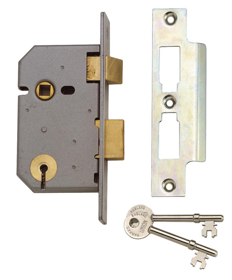 2237 - 3 Lever Mortice Sash Lock