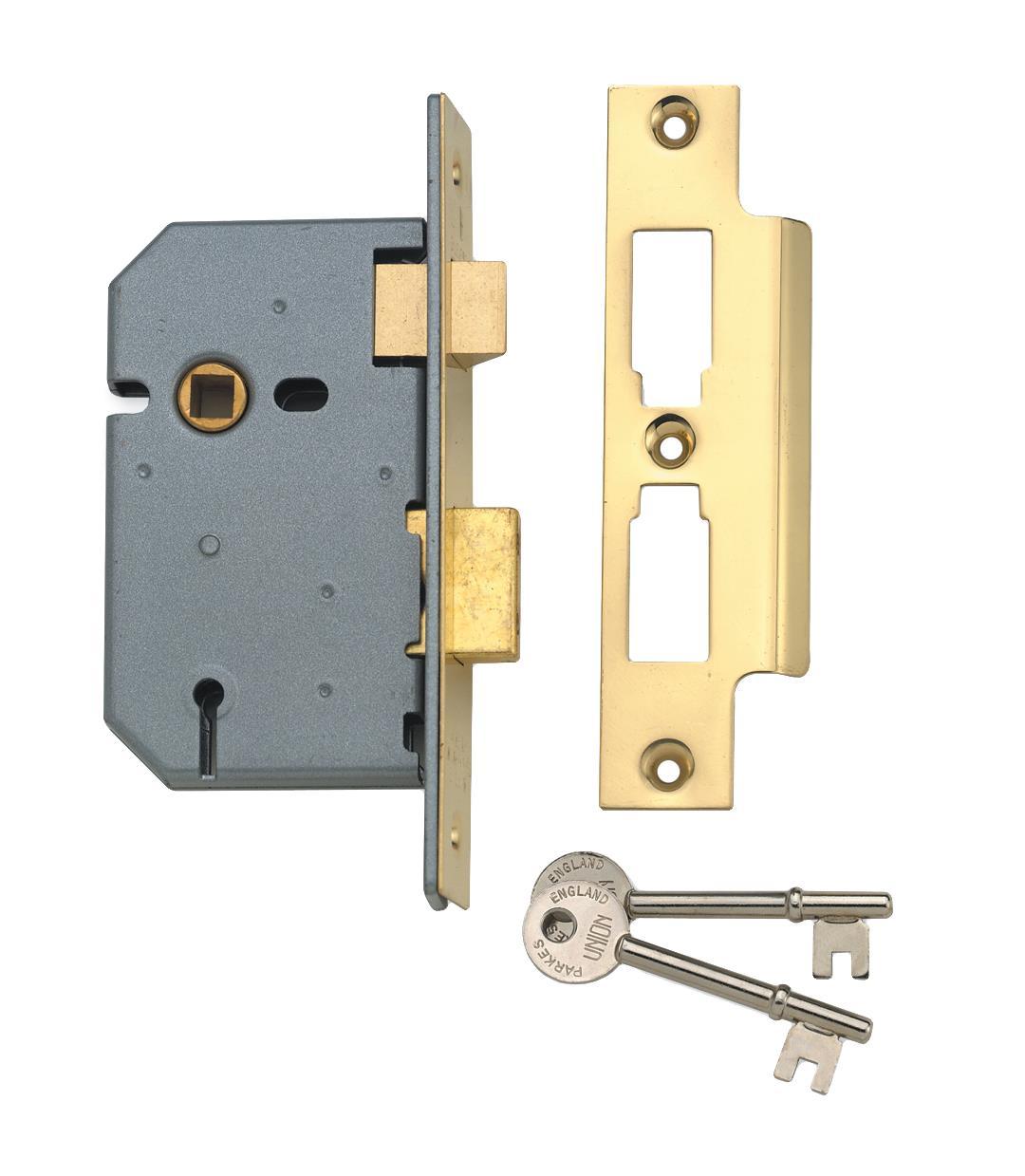 2277 - 3 Lever Mortice Sash Lock