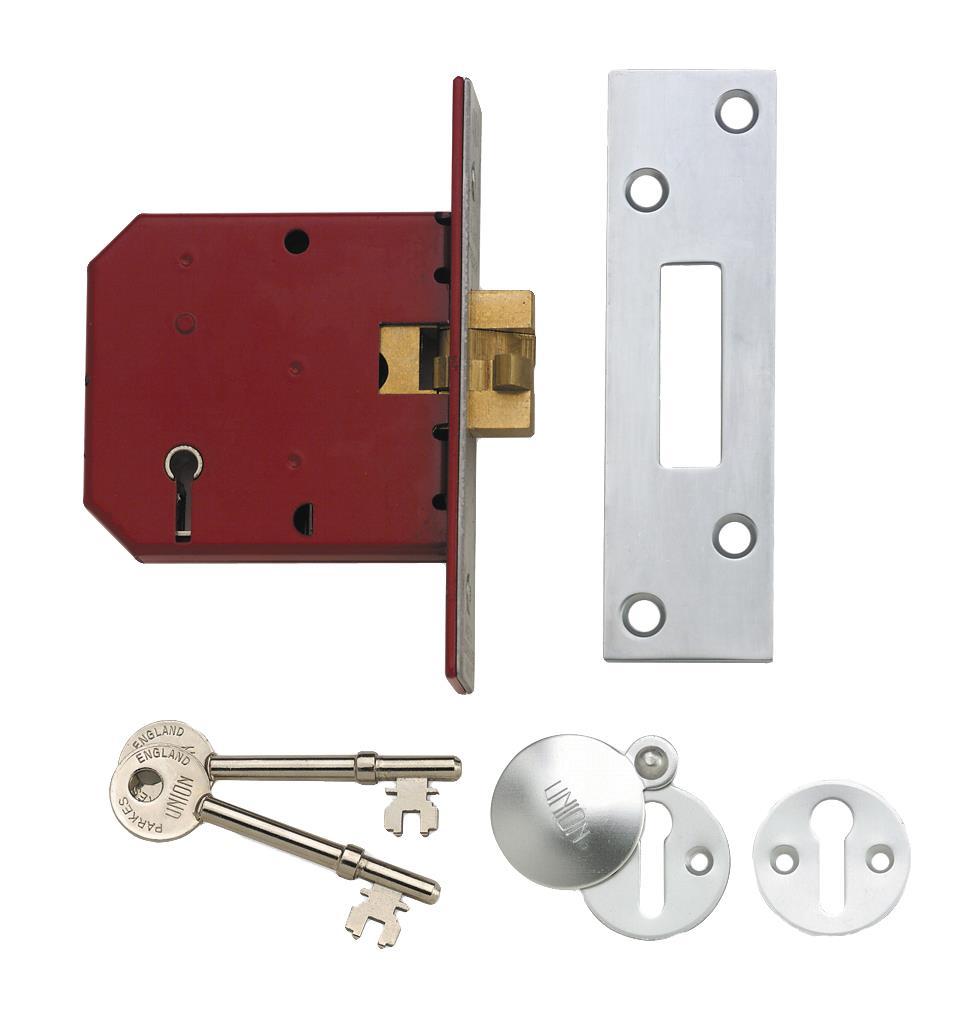 2401 - 5 Lever Sliding Door Lock