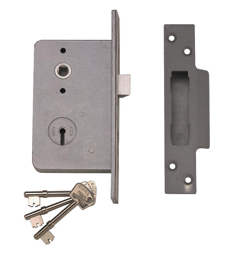 4L - Wellington Fort 6 Lever Mortice Night Latch