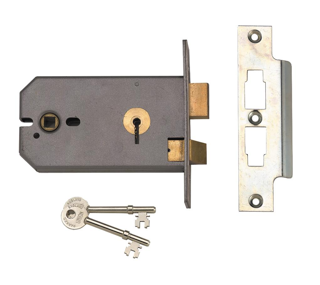 2037 - 3 Lever Horizontal Mortice Lock