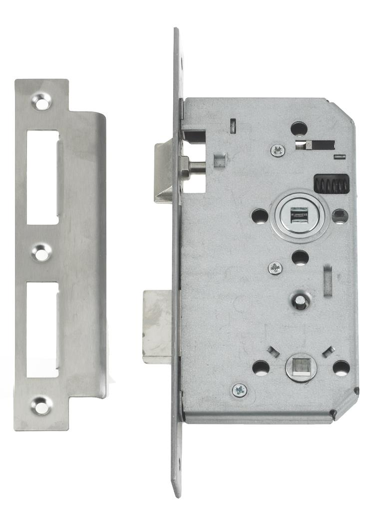 2B27 - Euro Profile Mortice Bathroom Lock