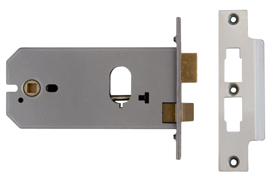 2041 / L2041 - Oval Profile Horizontal Mortice Lock