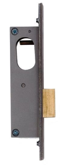 2153 / L2153 - Oval Profile Narrow Stile Door Deadlock