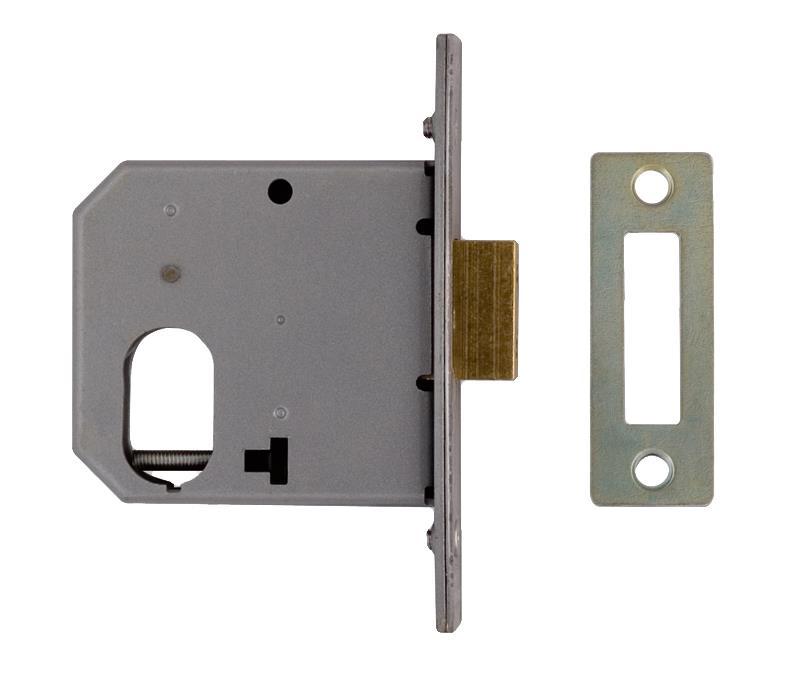 2161 / L2161 - Oval Profile Small Case Deadlock