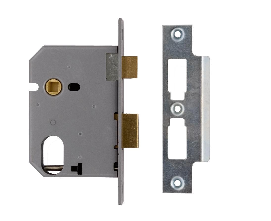 2241 / L2241 - Oval Profile Mortice Sash Lock