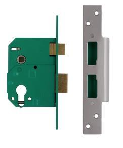 224402 / L224402 - Euro Profile Escape Night Latch Sash Lock