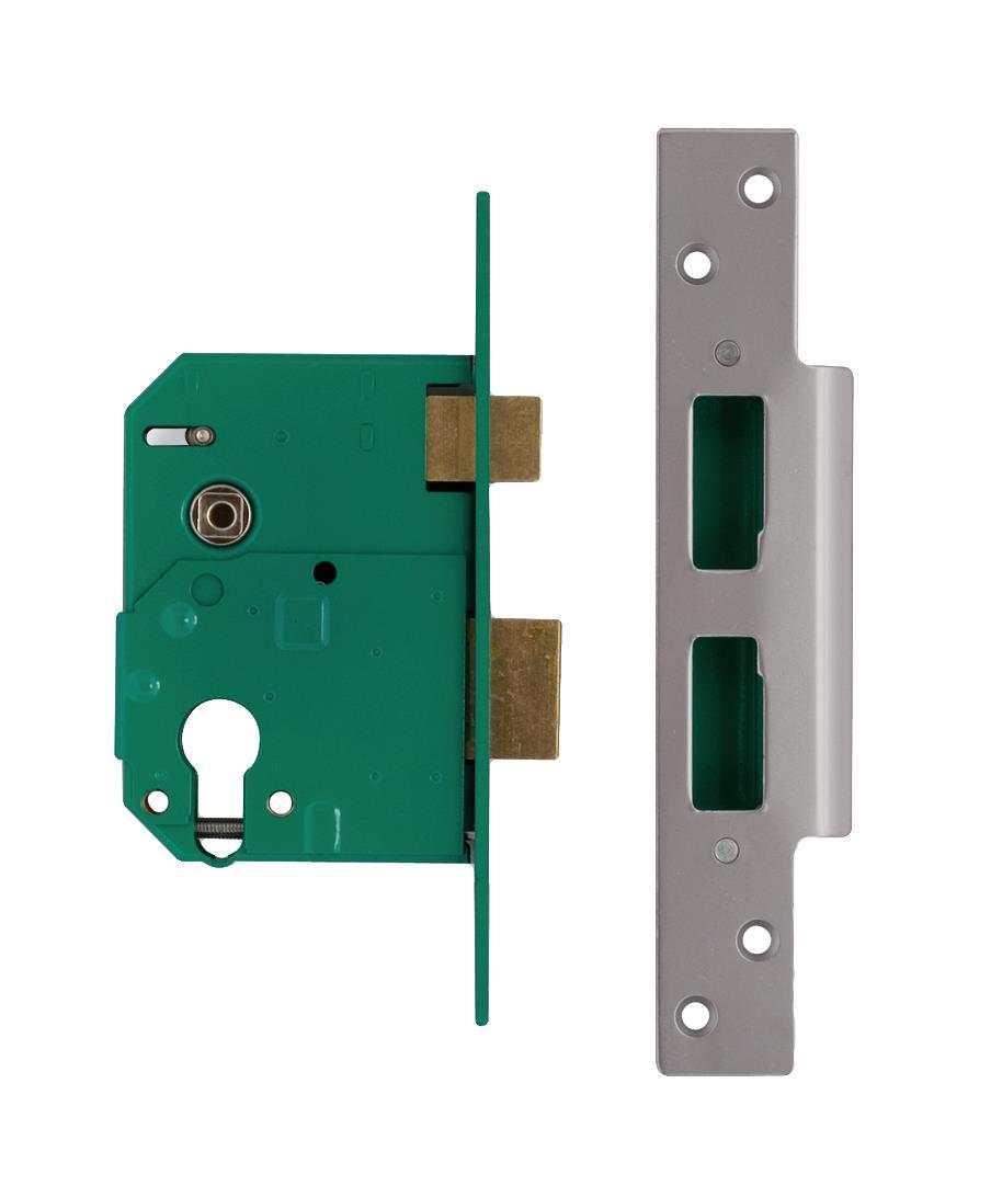 L224405 / L224406 - Euro Profile Escape Mortice Lock - outward opening