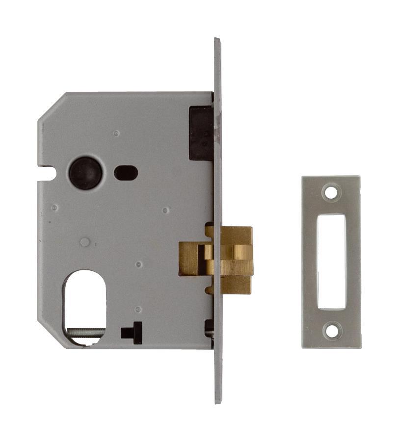L2441 - Oval Profile Mortice Sliding Door Lock
