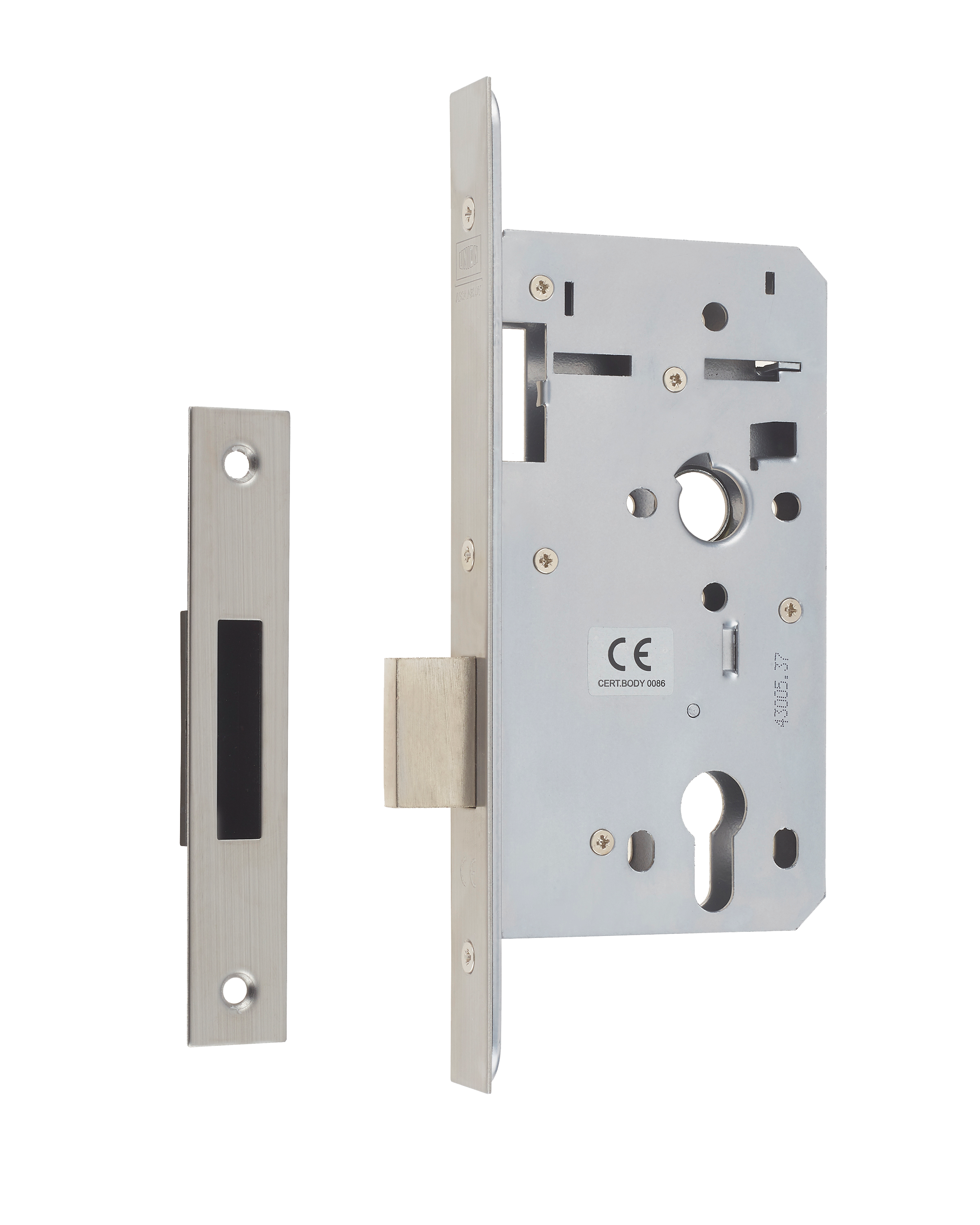 HD72DL - Heavy Duty Euro Profile Mortice Deadlock