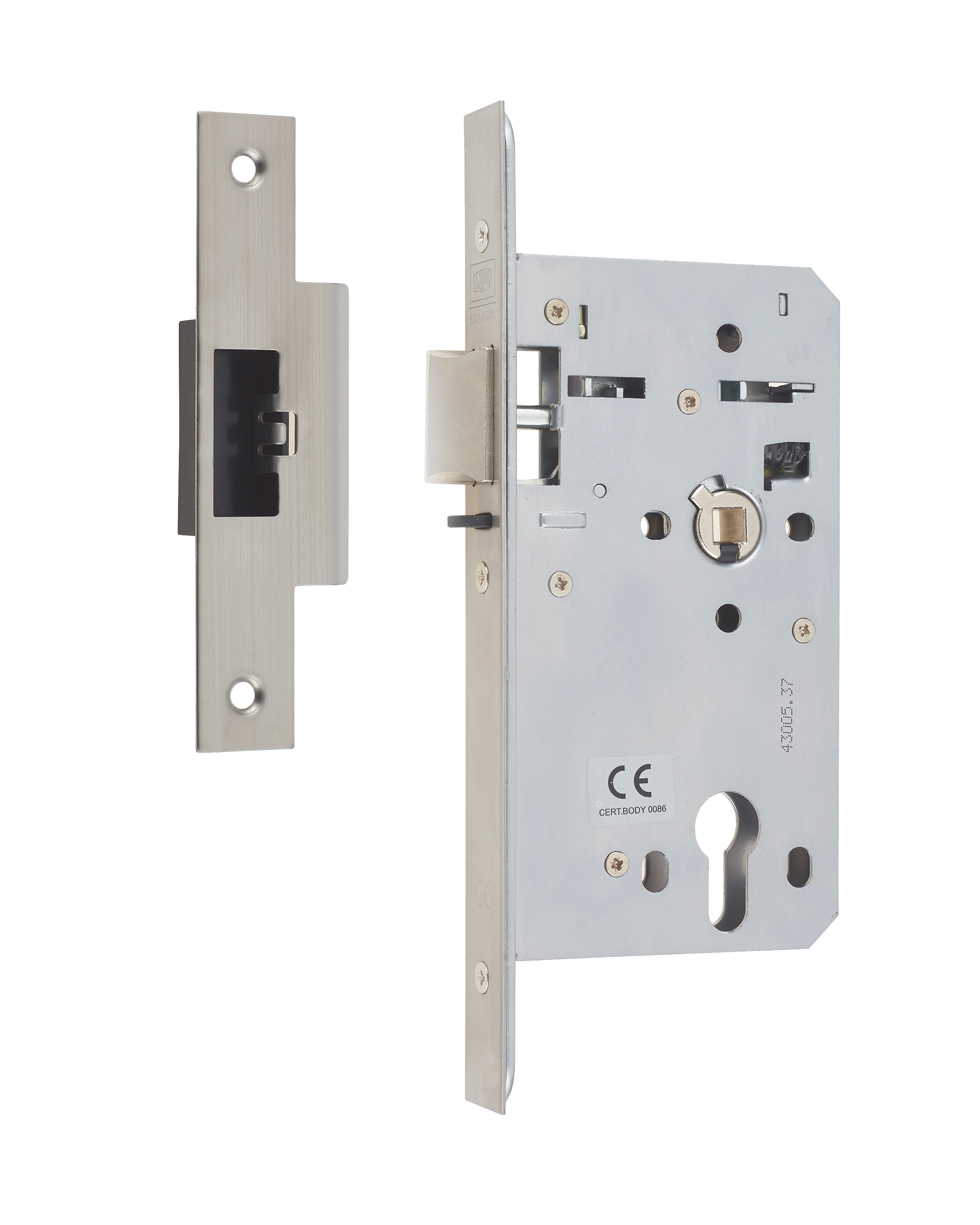 HD72DNL - Heavy Duty Euro Profile Deadlocking Nightlatch