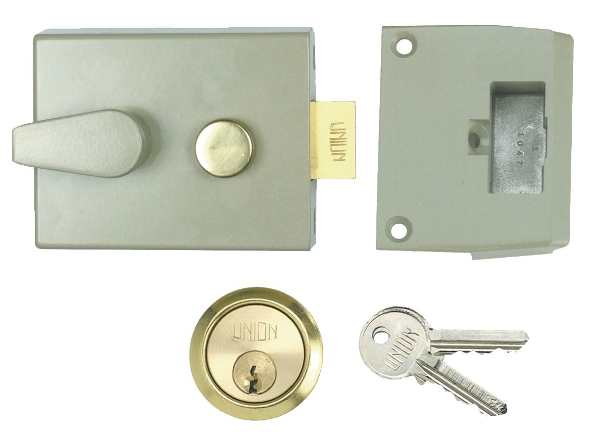 1028 / L1028 - Standard Stile Cylinder Night Latch