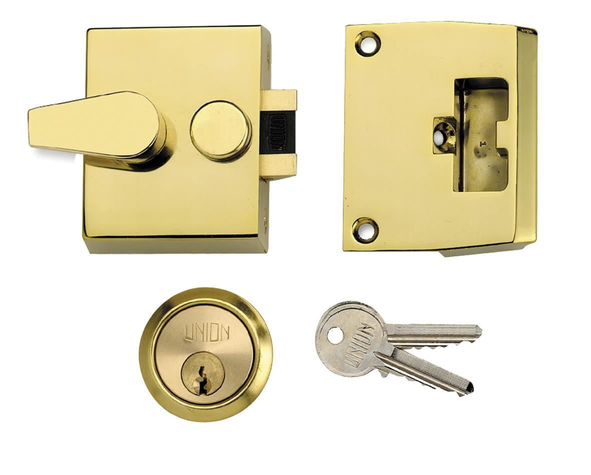 1037 / L1037 - Narrow Stile Cylinder Night Latch