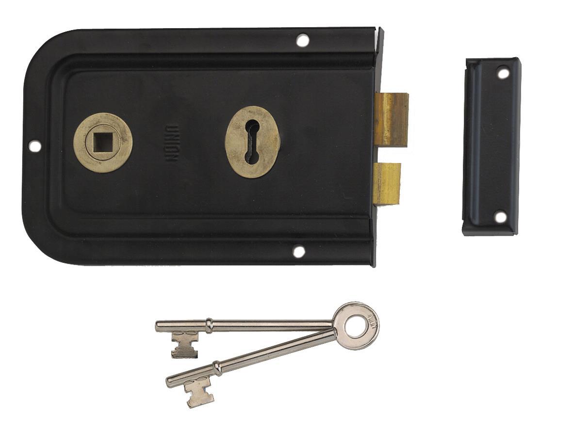 1445 - Lever Rim Lock