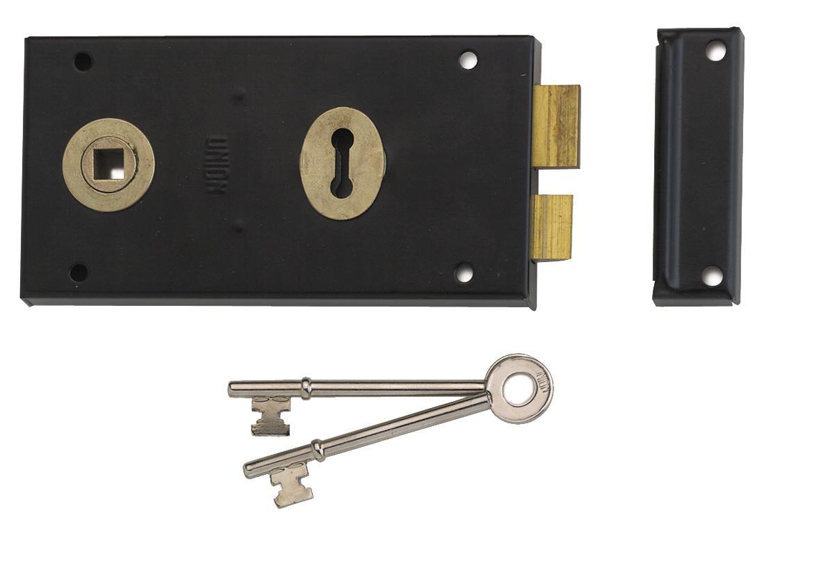 1448 - Lever Rim Lock