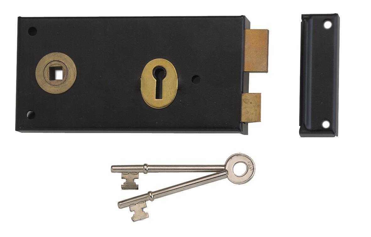 1465 - Lever Rim Lock